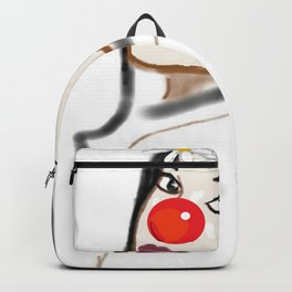 Rudolph Selfie - The Ghost of Christmas Present - The Christmas Spirit from A Christmas Carol Backpack