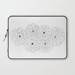 Cabbage Roses Laptop Sleeve