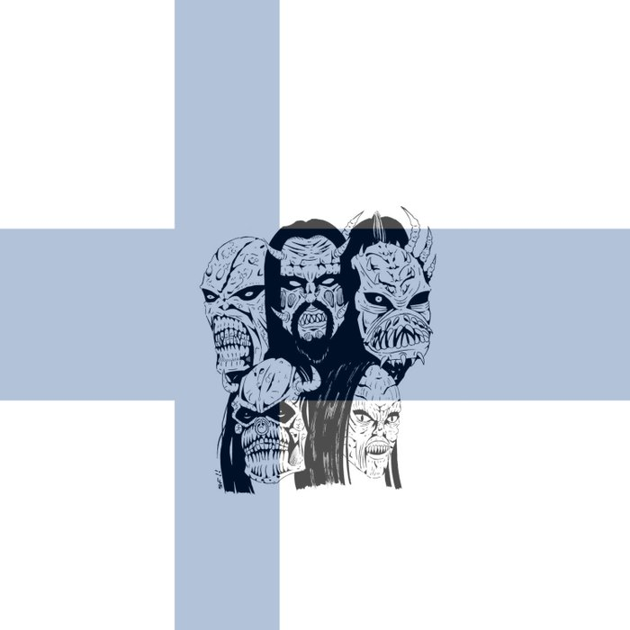 ESC Finland 2006 Duvet Cover