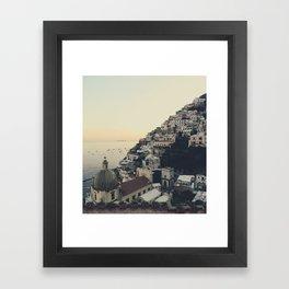 Positano IV Framed Art Print