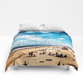 Manhattan Beach Summer Comforters