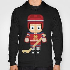 Ice Hockey Russia Red, White and Blue Hoody