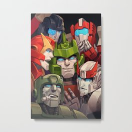 Springer and the baes Metal Print