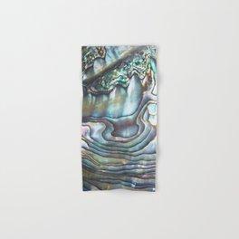 Shimmery Pastel Abalone Shell Hand & Bath Towel