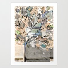 City Tree Art Print