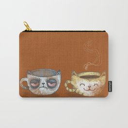Grumpy Cup, Happy Cup Carry-All Pouch
