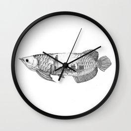 Genius Loci Arowana Wall Clock