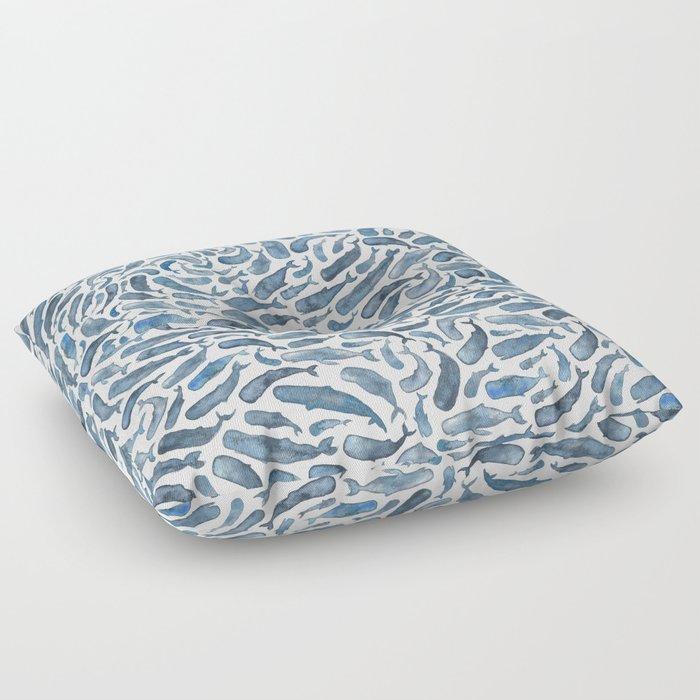 Whale, Sperm Whale Floor Pillow
