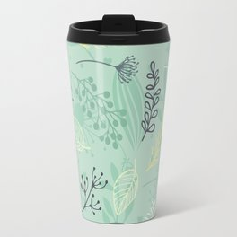 Flowers and Herbs Travel Mug