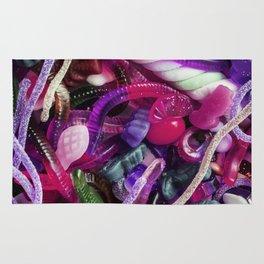 Purple Gummy Candy Rug