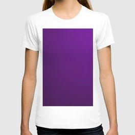 Fashion Purple Pattern T-shirt