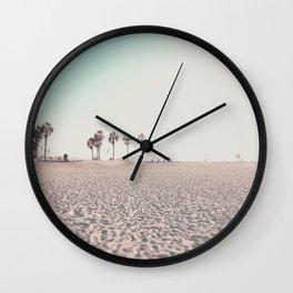Ocean Beach Sunset San Diego California Wall Clock