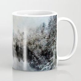 Winter on the Menominee Coffee Mug