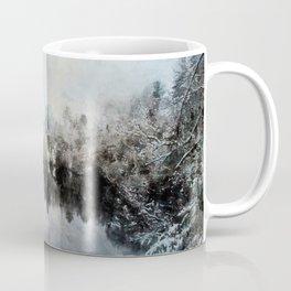 Winter on the Menominee Coffee Mug