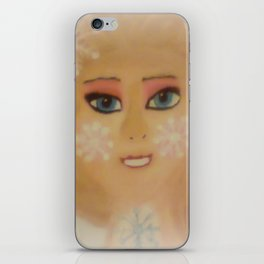 Frozen Snow Princess iPhone Skin