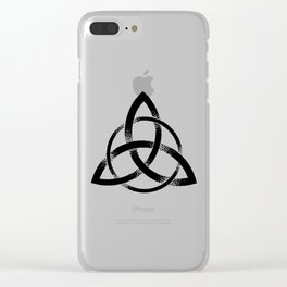 Triquetra Clear iPhone Case