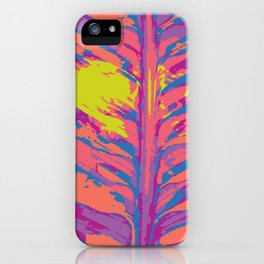 leafy coral iPhone Case