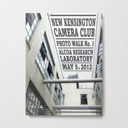 New Kensington Camera Club Photo Walk No. 1 Poster Metal Print