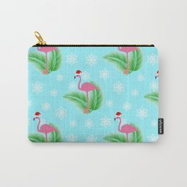 Flamingo at winter Carry-All Pouch