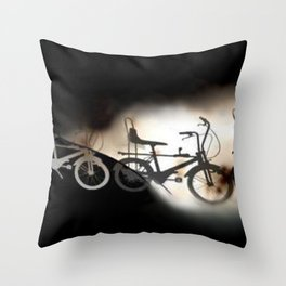 Let's Ride... Throw Pillow