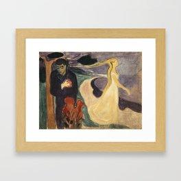 Separation by Edvard Munch Framed Art Print