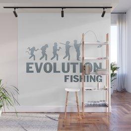 Evolution - Fishing Wall Mural