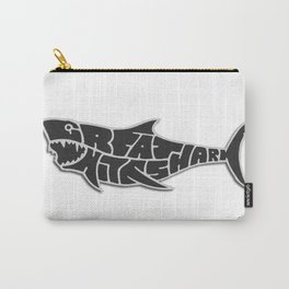 Great White Shark Calypso Reef Carry-All Pouch