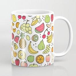 Juicy Fruits Doodle Coffee Mug