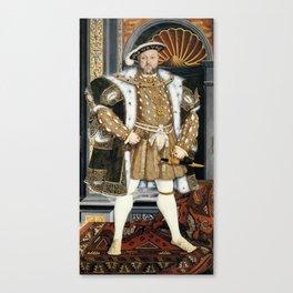Henry VIII portrait Canvas Print