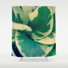 Foliage Swirl Shower Curtain