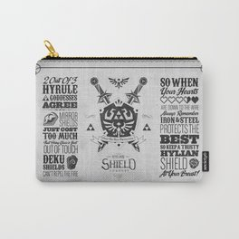 Legend of Zelda - The Hylian Shield Foundry Carry-All Pouch