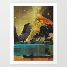Just Passing Through Art Print