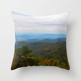 Skyline Drive Throw Pillow