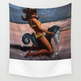 Playing Siren No.1 Wall Tapestry