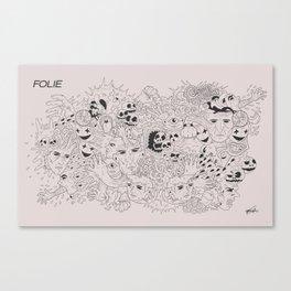 Folie Canvas Print