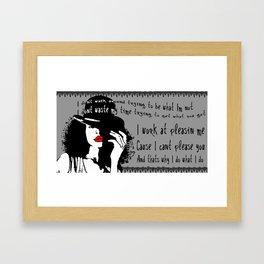{apple tree} Framed Art Print