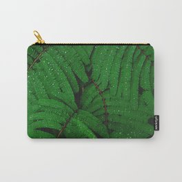 green leaves #society6 #decor #buyart Carry-All Pouch