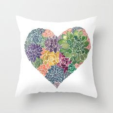 Rooted in Love No.2 Throw Pillow