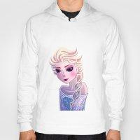 frozen elsa Hoodies featuring Elsa Frozen by Kaori