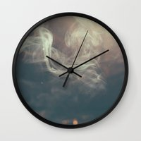 mad men Wall Clocks featuring Mad Men by Harvy Moon