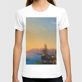 Ivan Aivazovsky - View of Constantinople and the Bosphorus T-shirt
