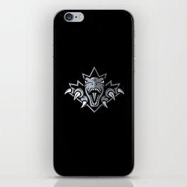 Dino Silver Leaf iPhone Skin