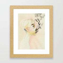 The creature Framed Art Print