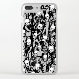 Skull Society Clear iPhone Case