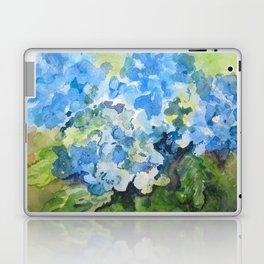 Blue Hydrangeas Laptop & iPad Skin
