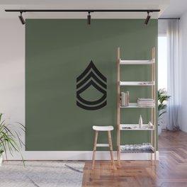 Sergeant First Class (Green) Wall Mural