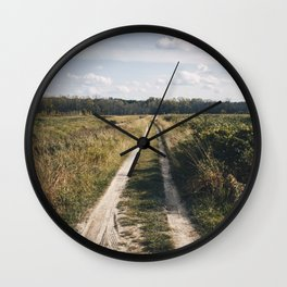 Road to the Clouds Wall Clock