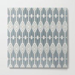 West End - Linen Metal Print