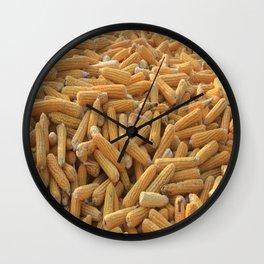 Husked Sweetcorn Wall Clock