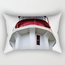 MODERN - LIGHTHOUSE - AGAINST - GRAY - SKY - PHOTOGRAPHY Rectangular Pillow